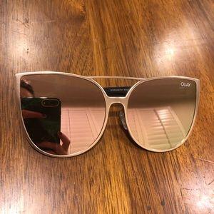 QUAY reflective sunglasses